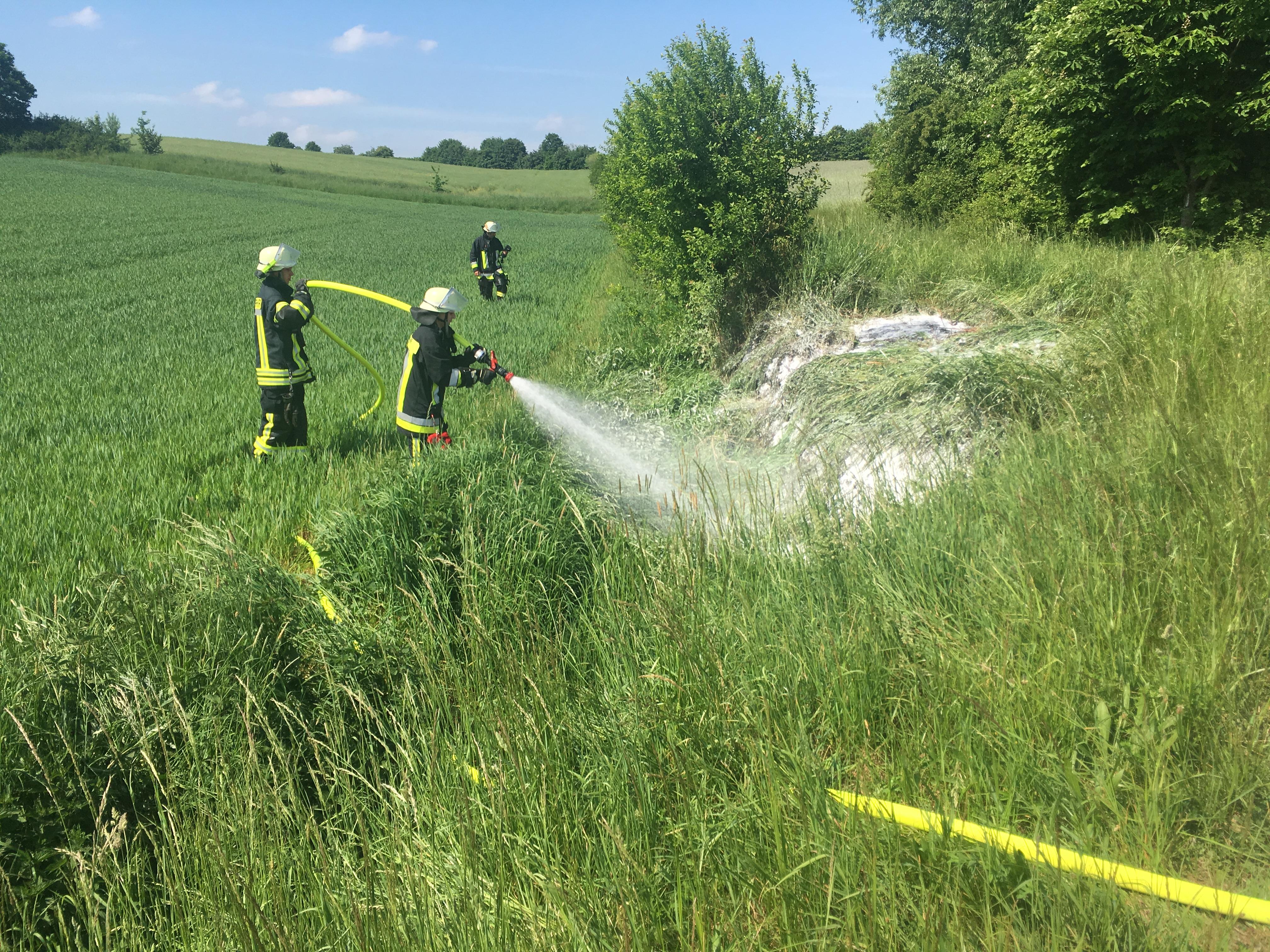 Brand vom 13.05.2018  |  (C) Feuerwehr Steppach (2018)